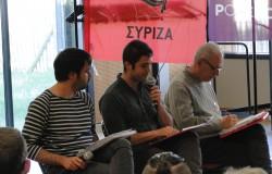 Une soirée, un débat avec Syriza et Podemos