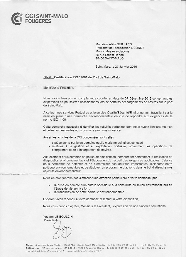 lettre cci