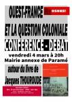 Conférence débat : Ouest-France et la question coloniale