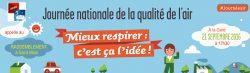 JOURNÉE NATIONALE POUR LA QUALITÉ DE L'AIR à Saint-Malo