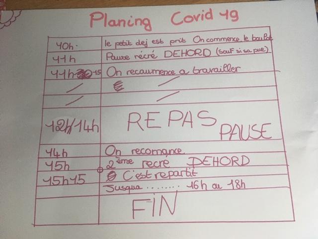 Planing Covid 19