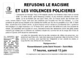 REFUSONS LE RACISME ET LES VIOLENCES POLICIERES